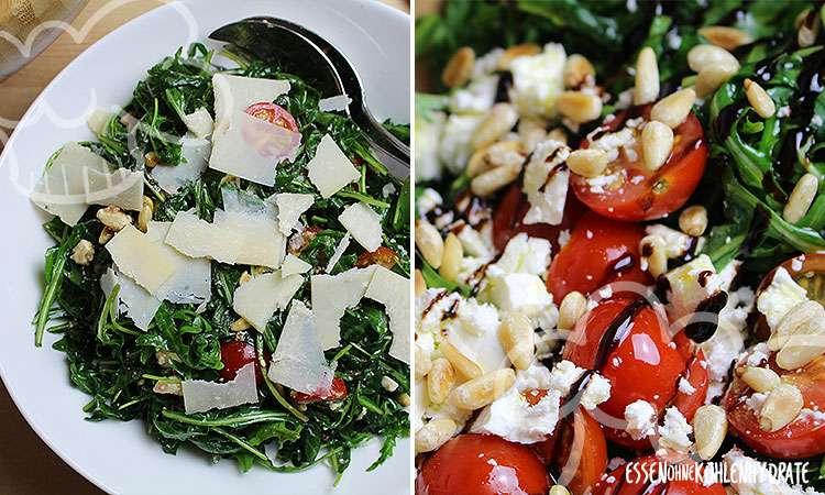 zum Rezept Frischer Rucola-Salat
