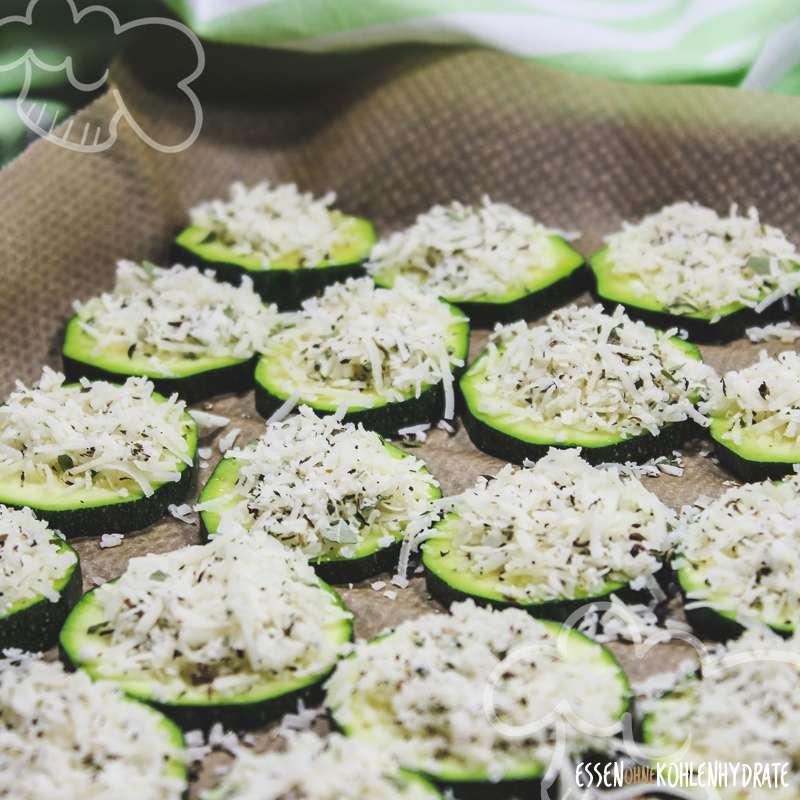 Zucchini-Parmesan-Taler
