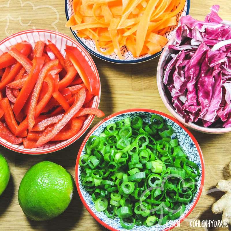 Fruchtig-scharfer Sommersalat