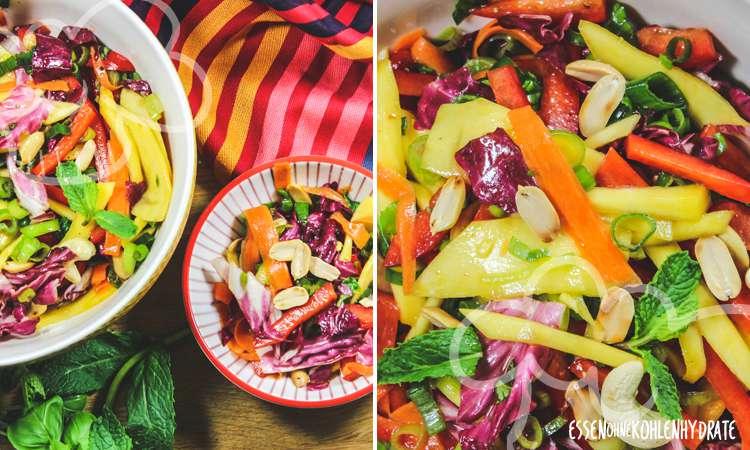zum Rezept Fruchtig-scharfer Sommersalat