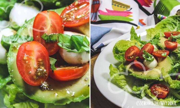 zum Rezept Avocado-Caprese