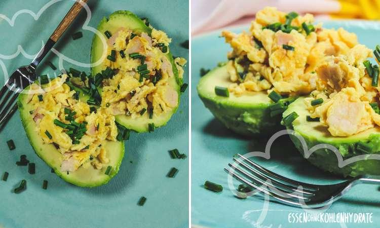 zum Rezept Gefüllte Avocado