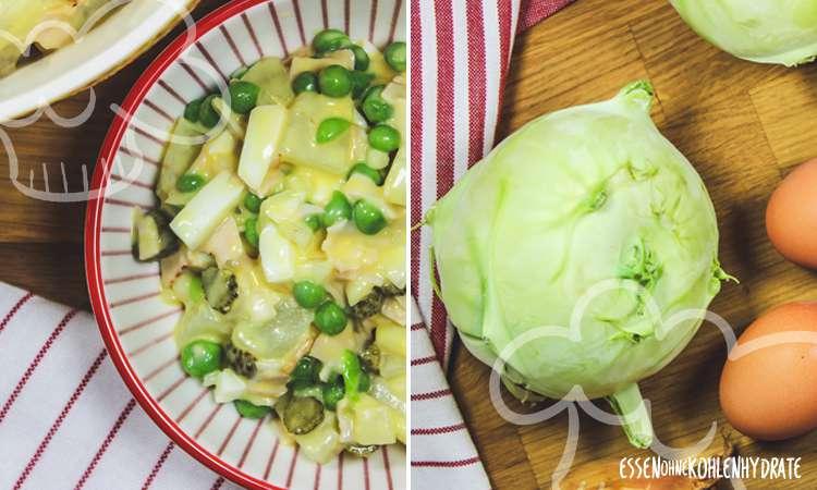 zum Rezept Falscher Kartoffelsalat