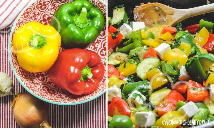 zum Rezept Paprikagemüse mit Feta