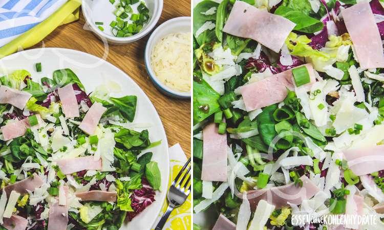 zum Rezept Schinken-Käse-Salat