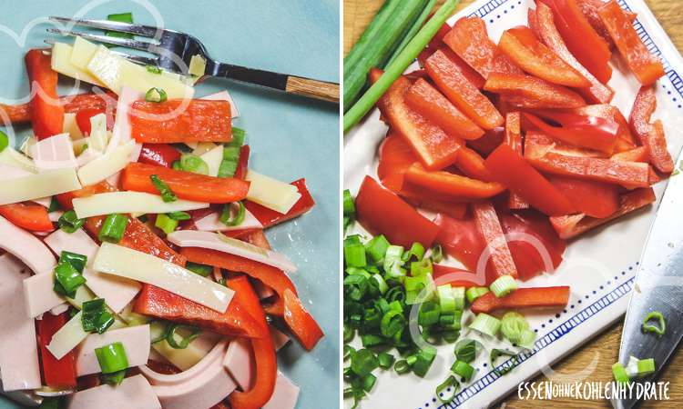 zum Rezept Bunter Paprika-Wurstsalat