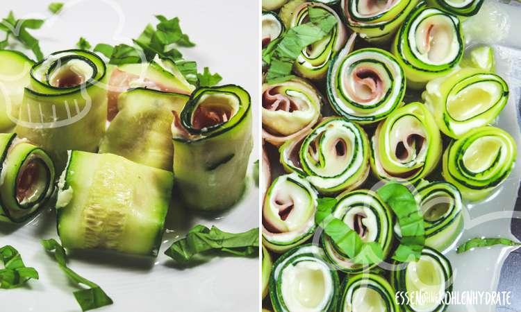 zum Rezept Zucchiniröllchen