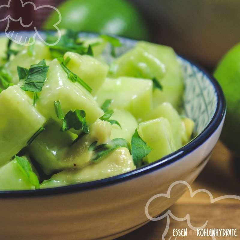 Gurken-Avocado-Salat