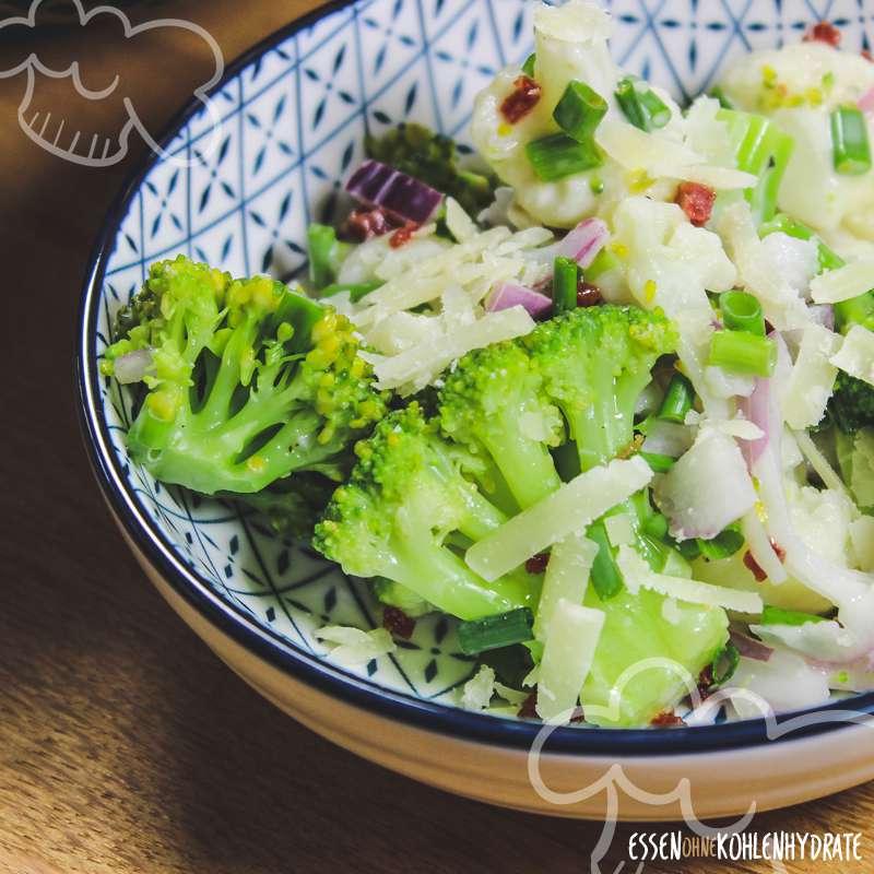 Brokkoli Blumenkohl Salat