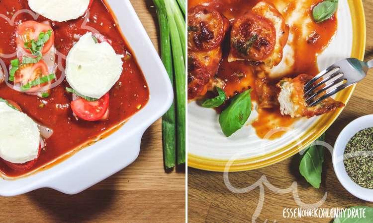 zum Rezept Ofenhähnchen mit Mozzarella