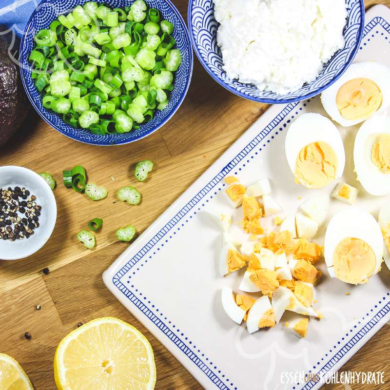 Avocado-Eier-Salat