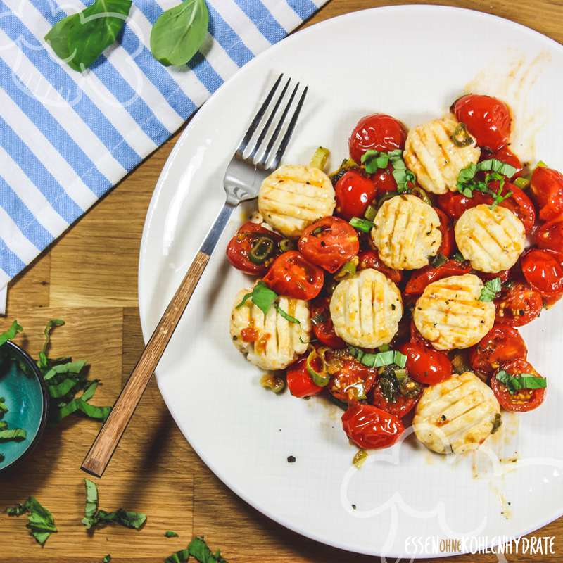 Quark-Gnocchi mit Tomatensoße