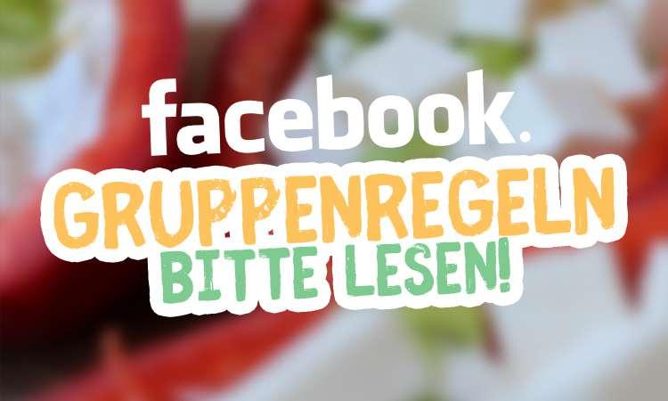 Unsere Facebook-Gruppenregeln
