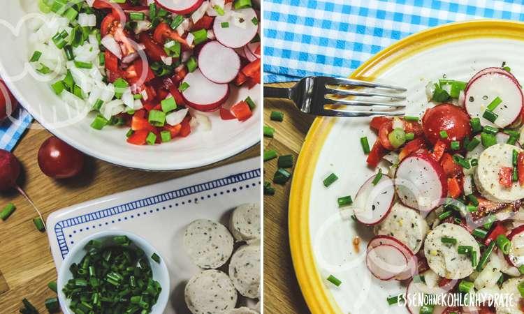 zum Rezept Weißwurstsalat