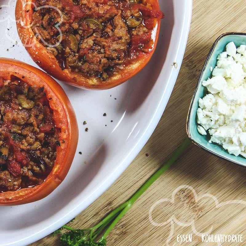 Gefüllte Tomaten mit Feta