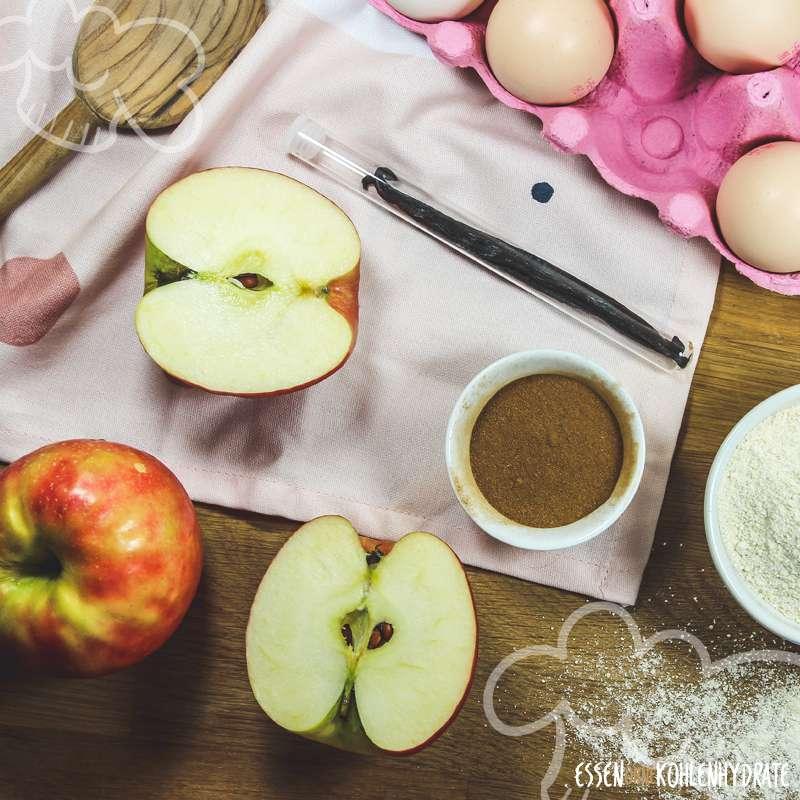 Zimt-Apfelkuchen mit Streuseln