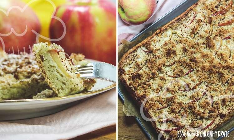 zum Rezept Zimt-Apfelkuchen mit Streuseln
