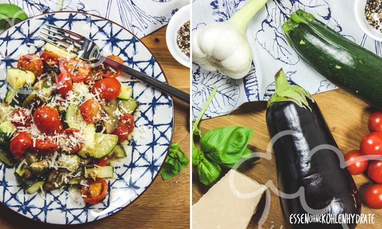Schnelles Ofengemüse mit Parmesan