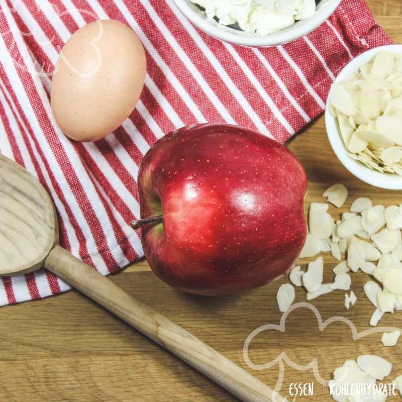 Apfel-Quark-Auflauf