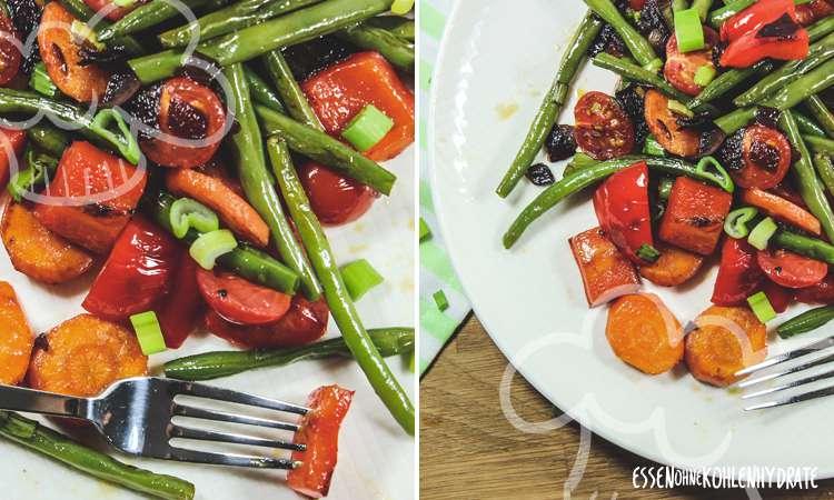 zum Rezept Bunte Gemüsepfanne