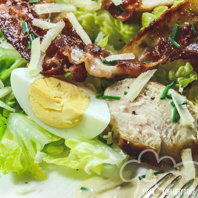 caesar salat mit h hnchenbrust low carb rezepte essen ohne kohlenhydrate. Black Bedroom Furniture Sets. Home Design Ideas