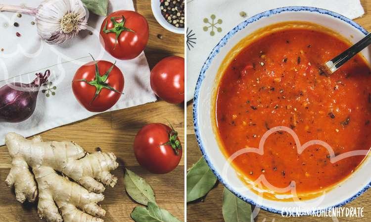 zum Rezept Tomatensuppe mit Ingwer