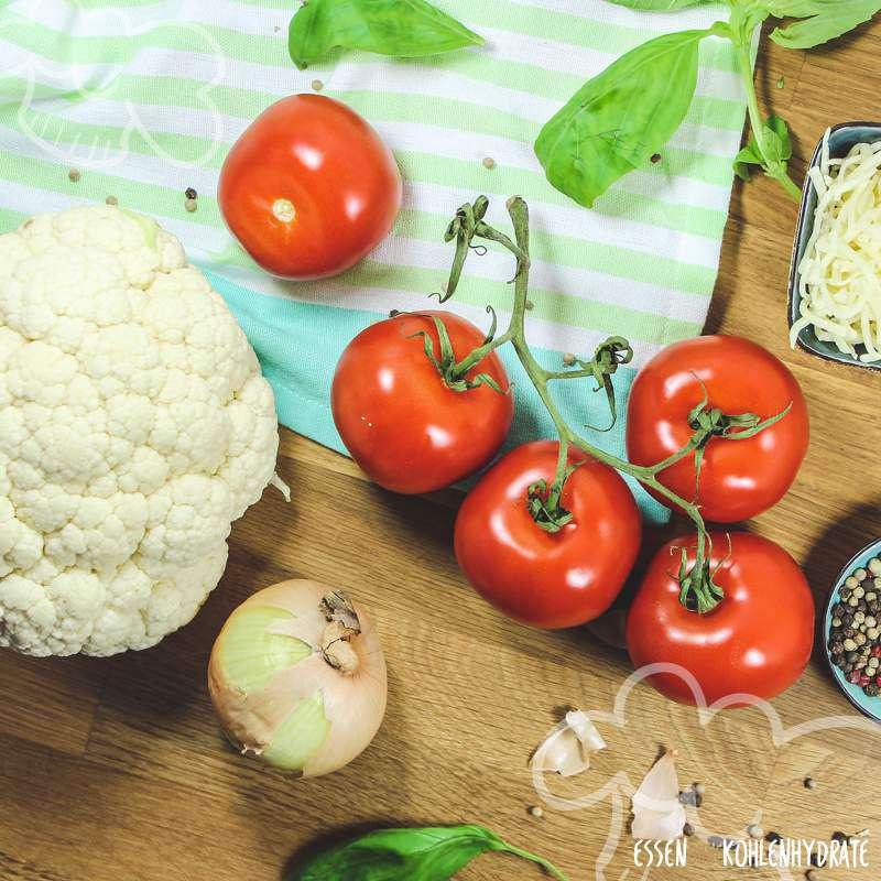 Blumenkohl mit Tomatensoße