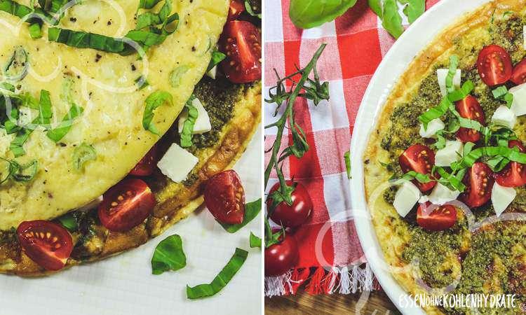 zum Rezept Pesto-Omelette
