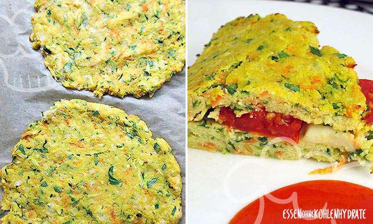 zum Rezept Low Carb Tacco mit Tomate Mozzarella
