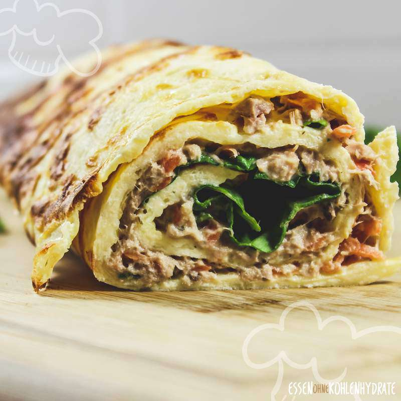 Thunfisch-Wrap