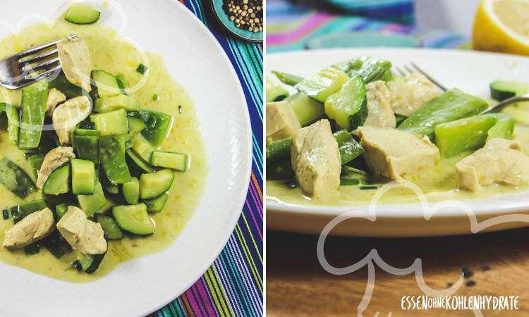 zum Rezept Grünes Hähnchen-Curry