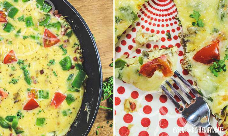 zum Rezept Überbackenes Omelette