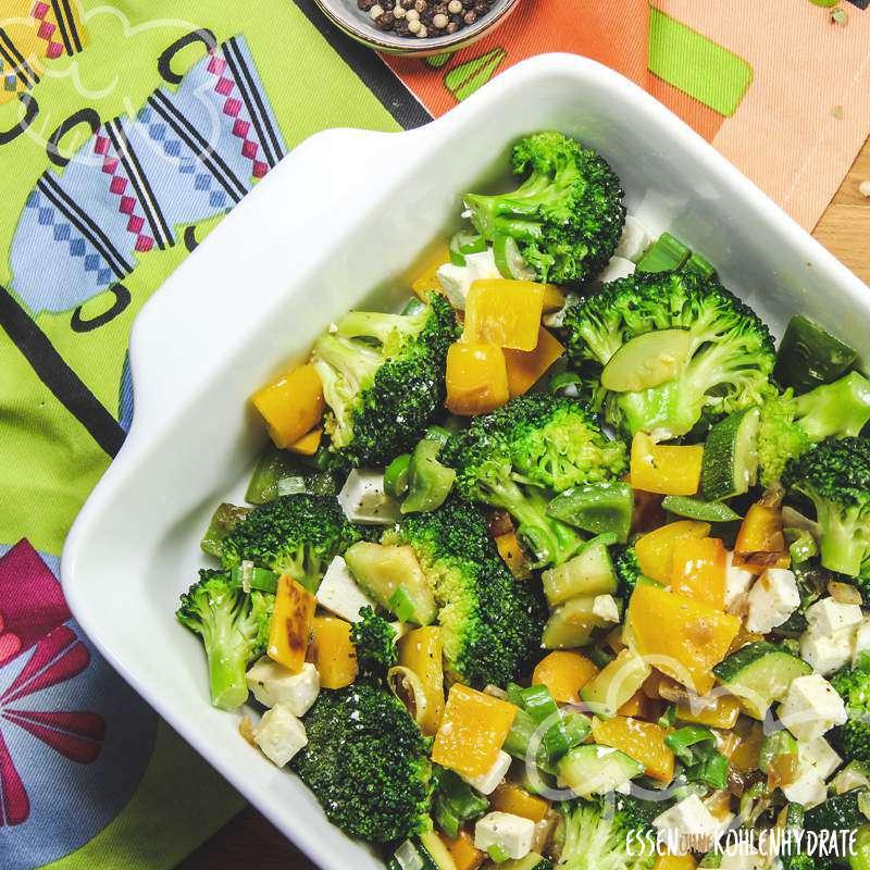 Gemüse-Quark-Auflauf