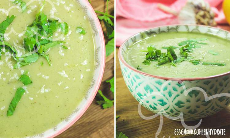 Zucchini-Kohlrabi-Suppe
