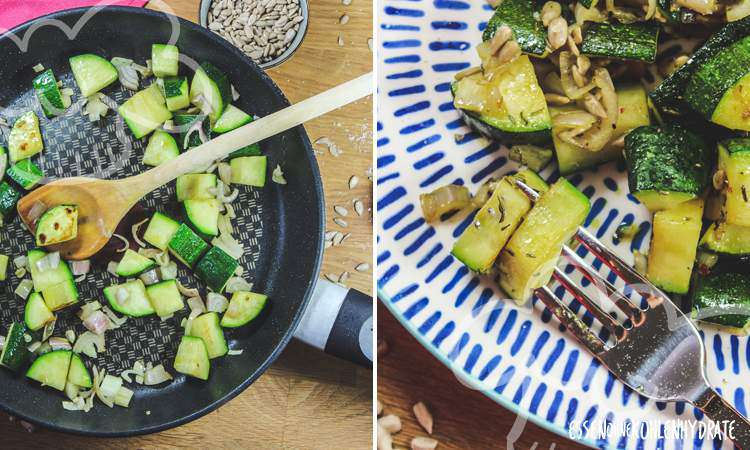 zum Rezept Schnelle Zucchinipfanne