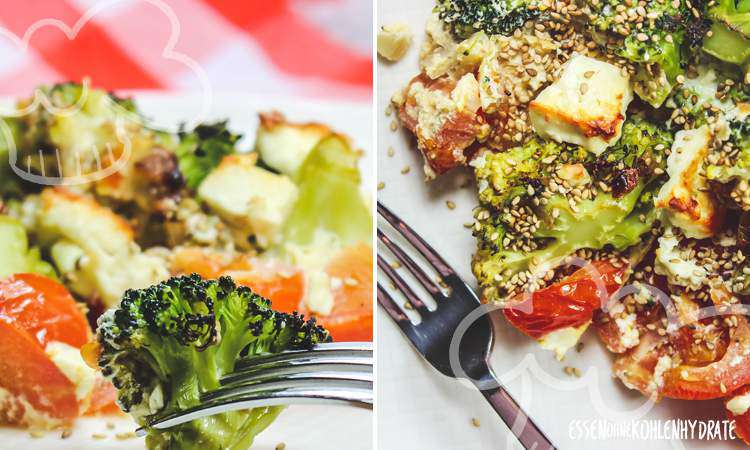 zum Rezept Brokkoli-Feta-Auflauf