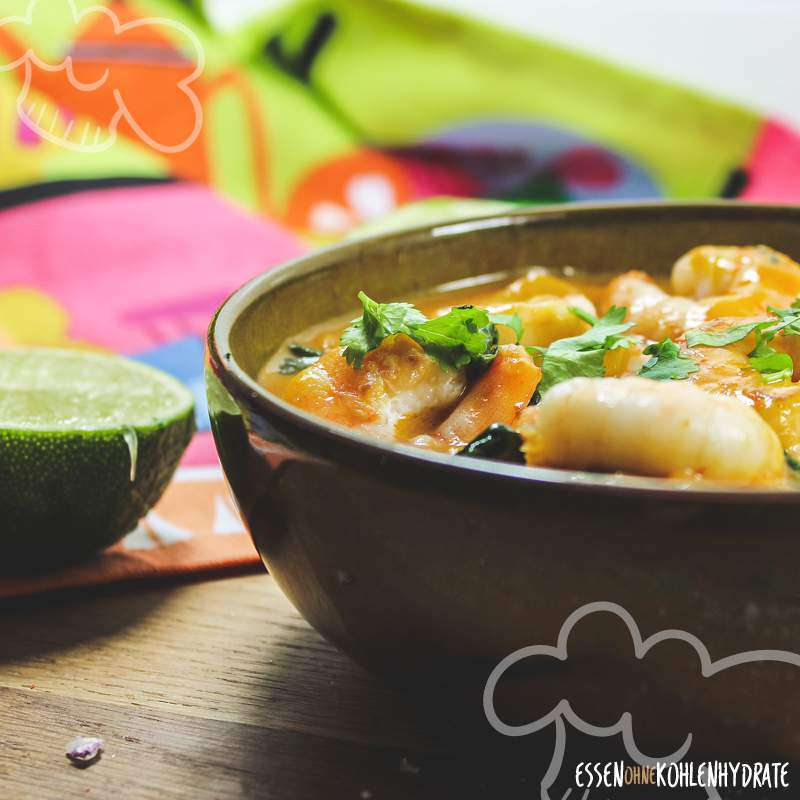 Garnelen-Curry-Pfanne