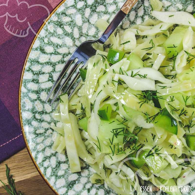 Weißkohl-Salat