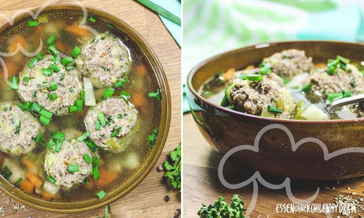 zum Rezept Suppe mit Hackbällchen
