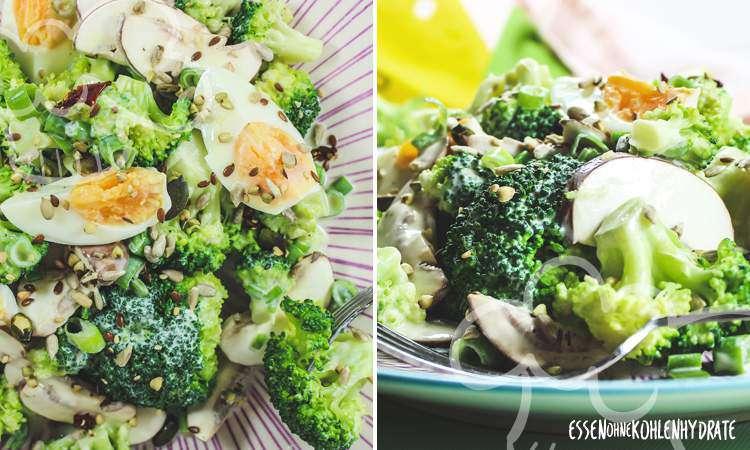 zum Rezept Brokkoli-Salat mit Ei
