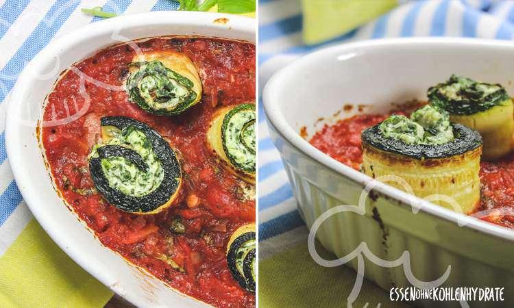 zum Rezept Zucchini-Cannelloni