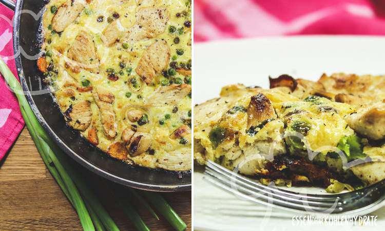 zum Rezept Hähnchen-Frittata