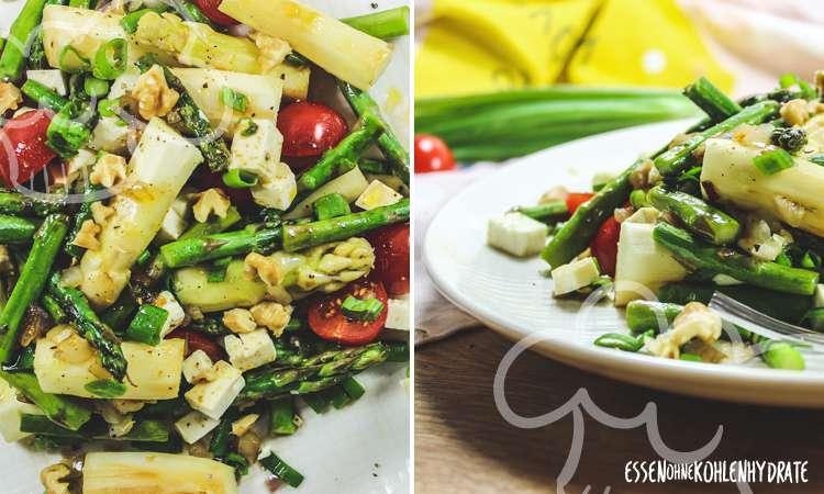 zum Rezept Spargel-Salat mit Feta