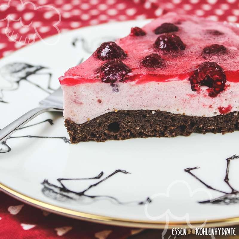 ᐅ Himbeer Joghurt Torte Low Carb Rezepte Essen Ohne