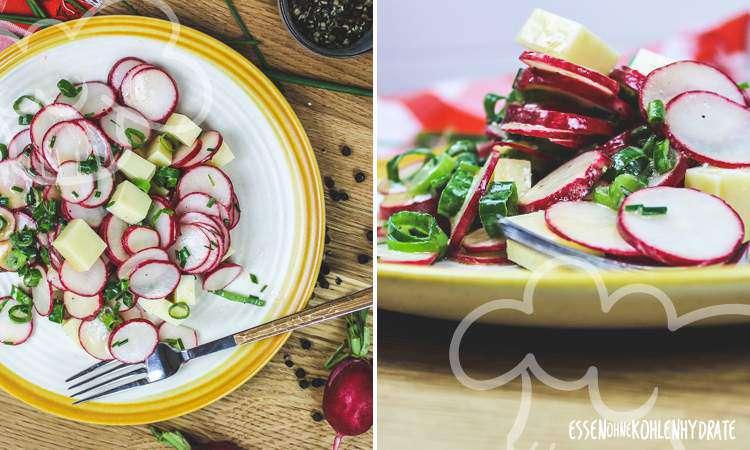zum Rezept Radieschen-Käse-Salat