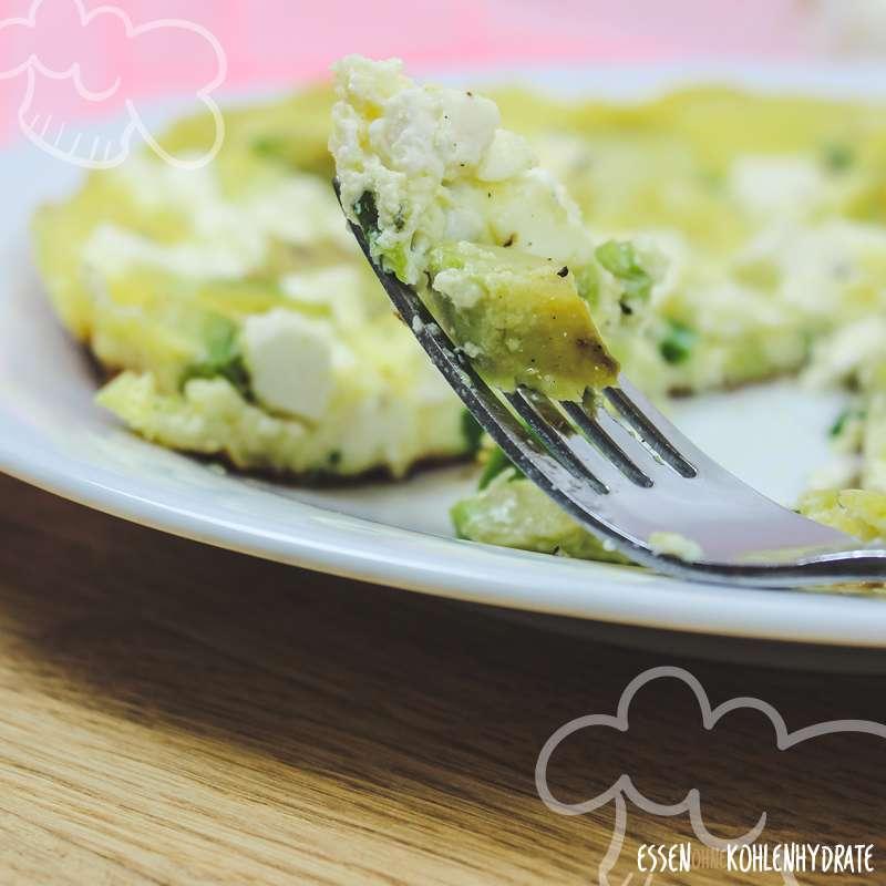Avocado-Feta-Frittata