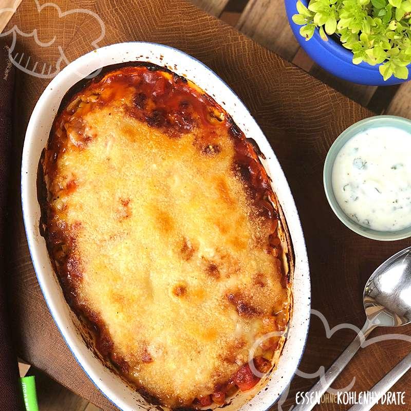 Gemüse-Auflauf mit Parmesan