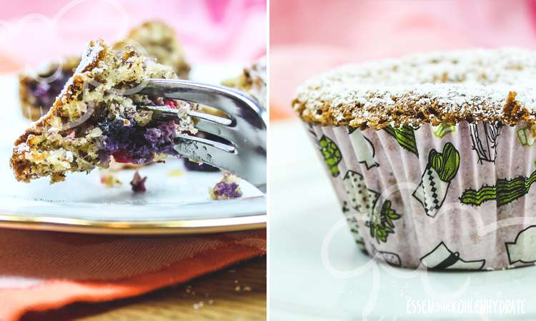 Beeren-Nuss-Muffins