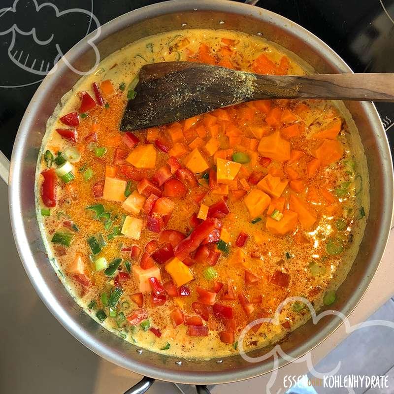 Low-Carb Kürbis-Curry