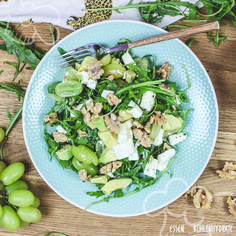 Avocado-Rucola-Salat